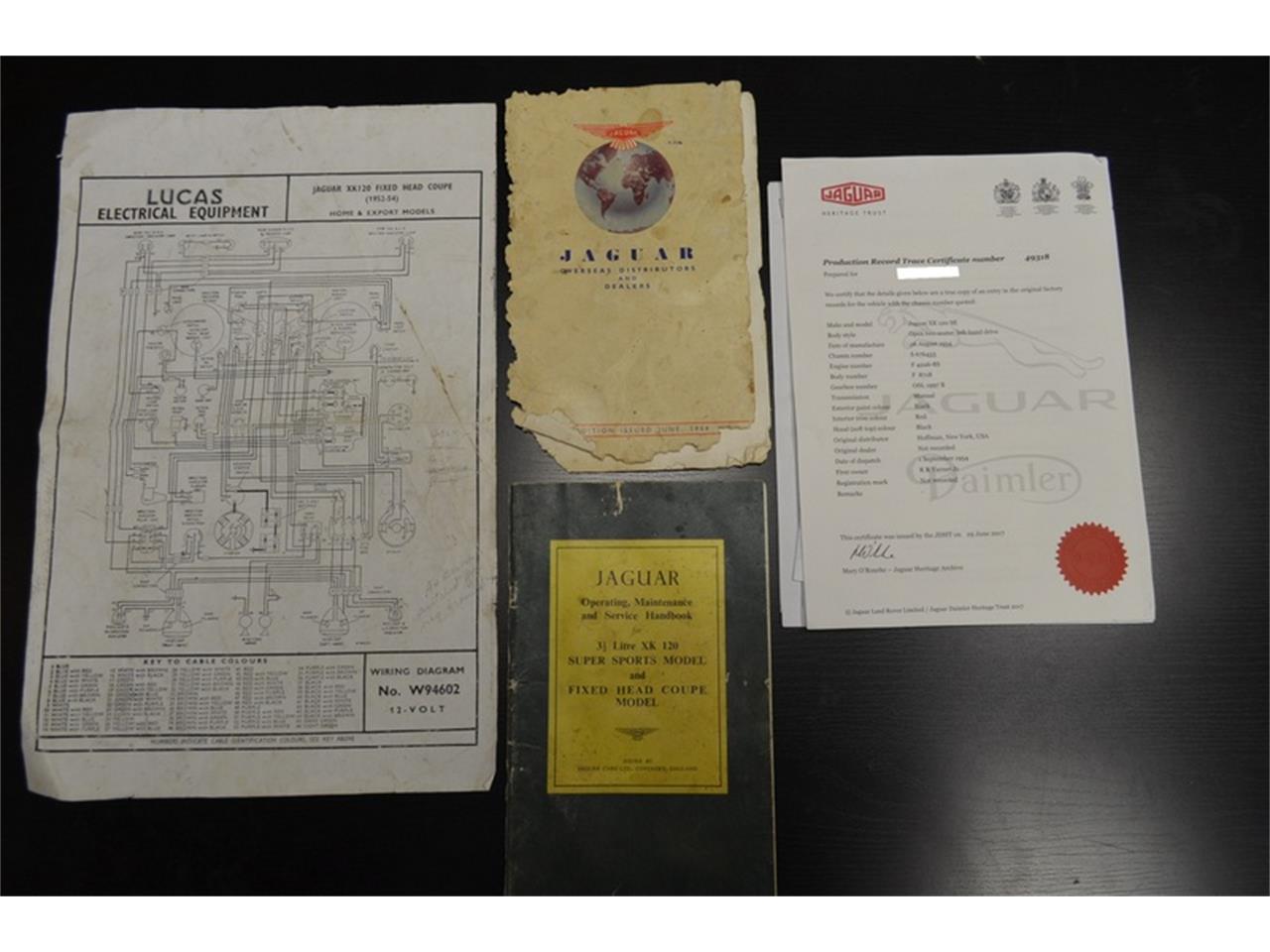1954 Jaguar Wiring Diagram Schematics Willys Xk120 For Sale Classiccars Com Cc 1071922 Fender Guitar