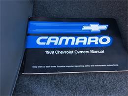 Picture of 1989 Camaro IROC Z28 - MZ5V