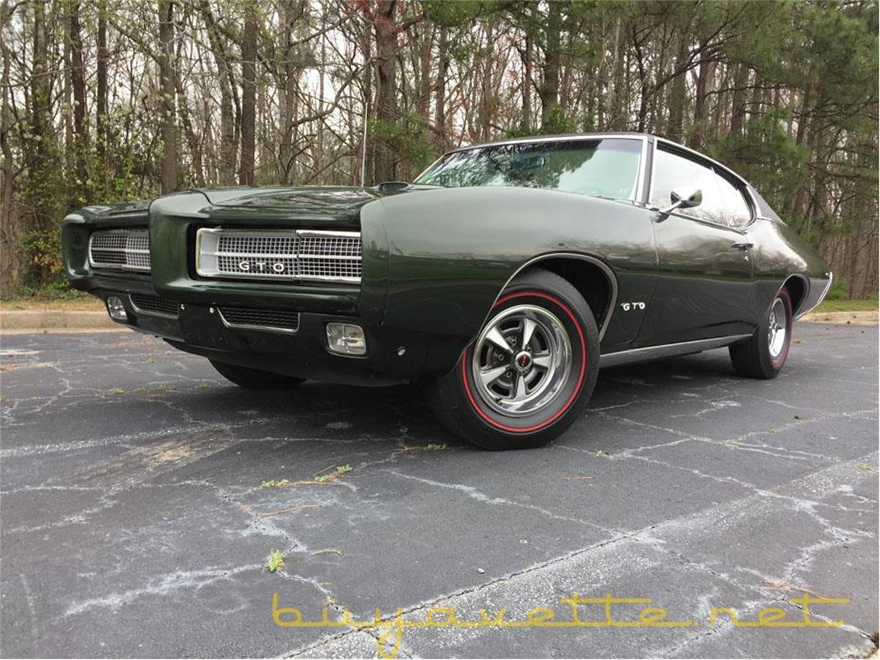 Large Picture of 1969 GTO located in Atlanta Georgia - $37,999.00 - MZ78