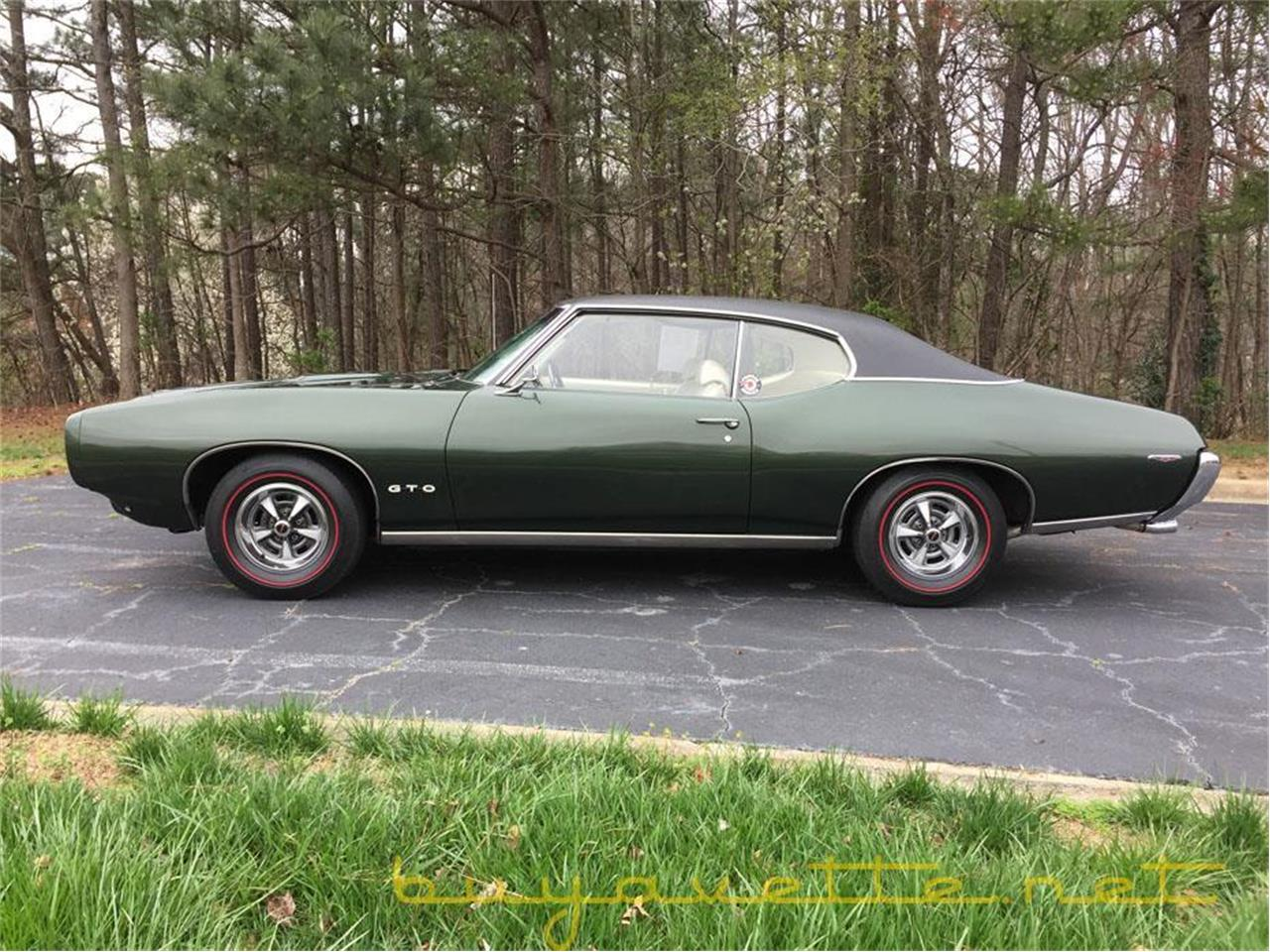 Large Picture of Classic '69 Pontiac GTO located in Georgia - $37,999.00 Offered by Buyavette - MZ78