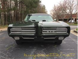 Picture of Classic '69 Pontiac GTO located in Georgia Offered by Buyavette - MZ78