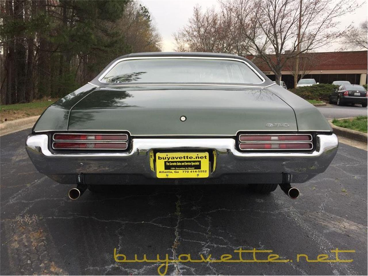 Large Picture of Classic '69 GTO - $37,999.00 Offered by Buyavette - MZ78