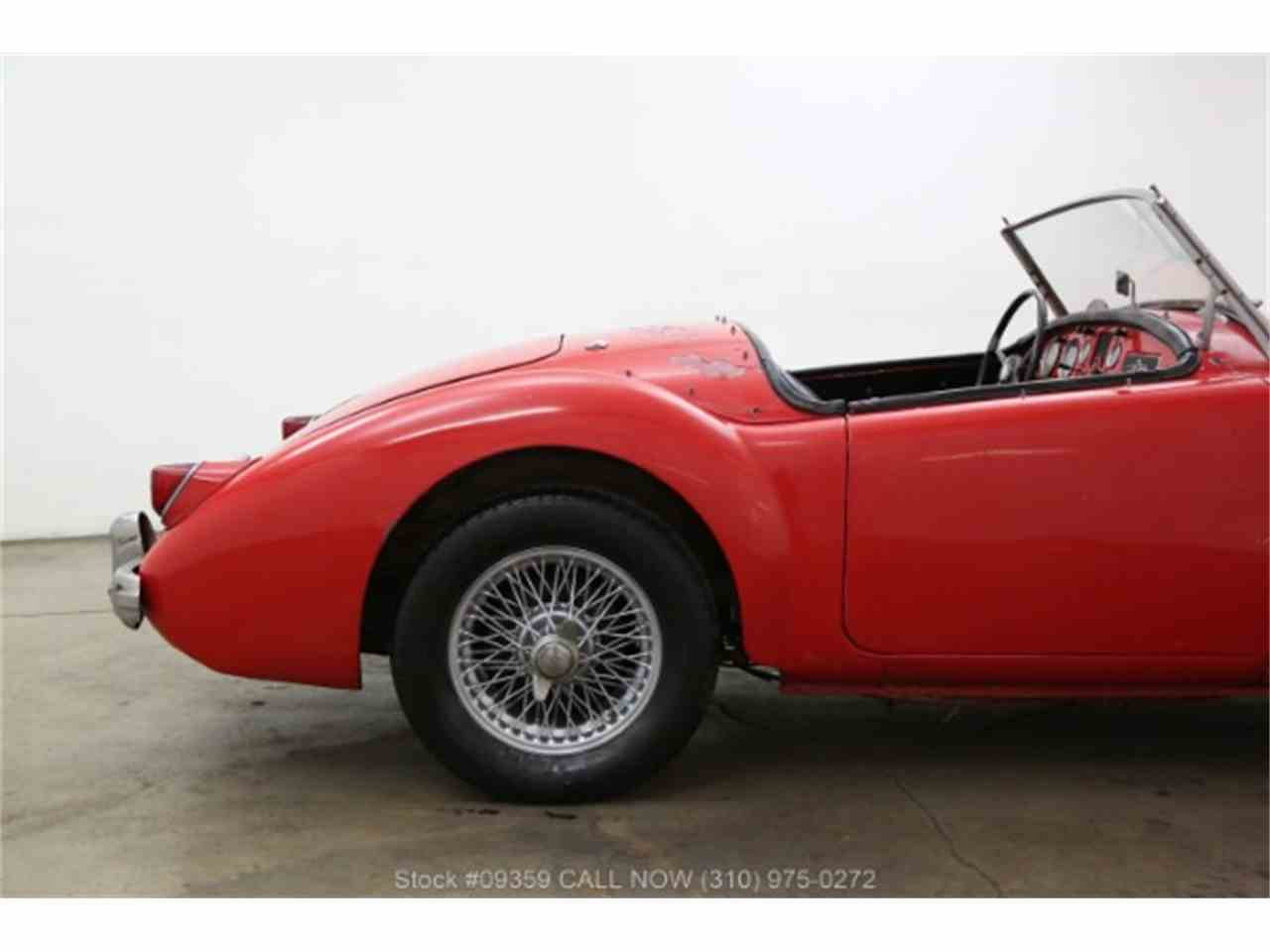 Large Picture of Classic 1958 MG Antique located in Beverly Hills California Offered by Beverly Hills Car Club - MZ7G