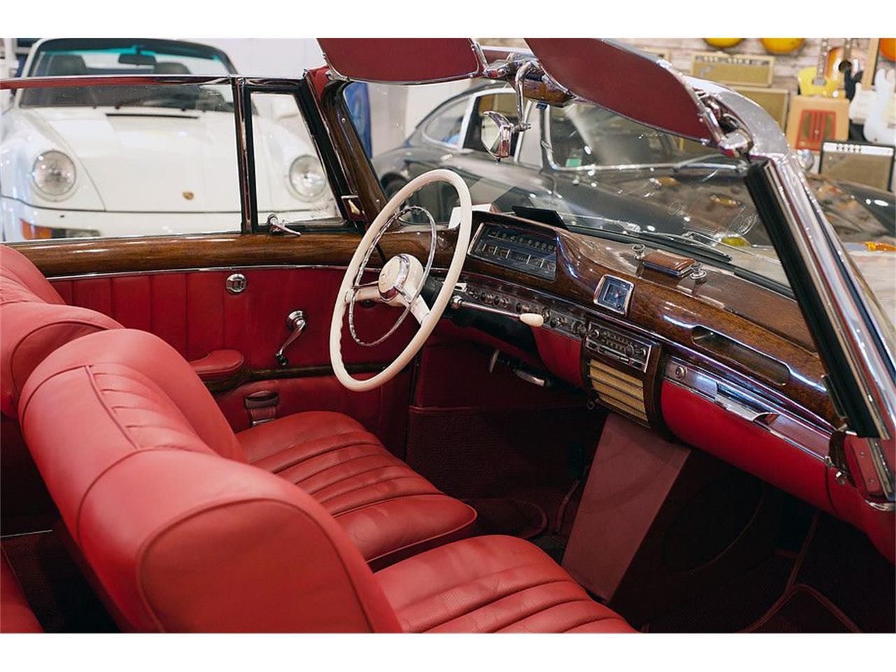 Large Picture of '57 Mercedes-Benz 220 Offered by Walt Grace Vintage - MZ92