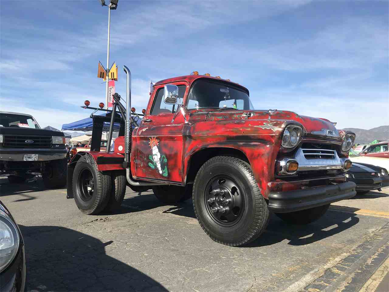 Large Picture of '58 Chevrolet Pickup - $20,000.00 Offered by a Private Seller - MZ9U