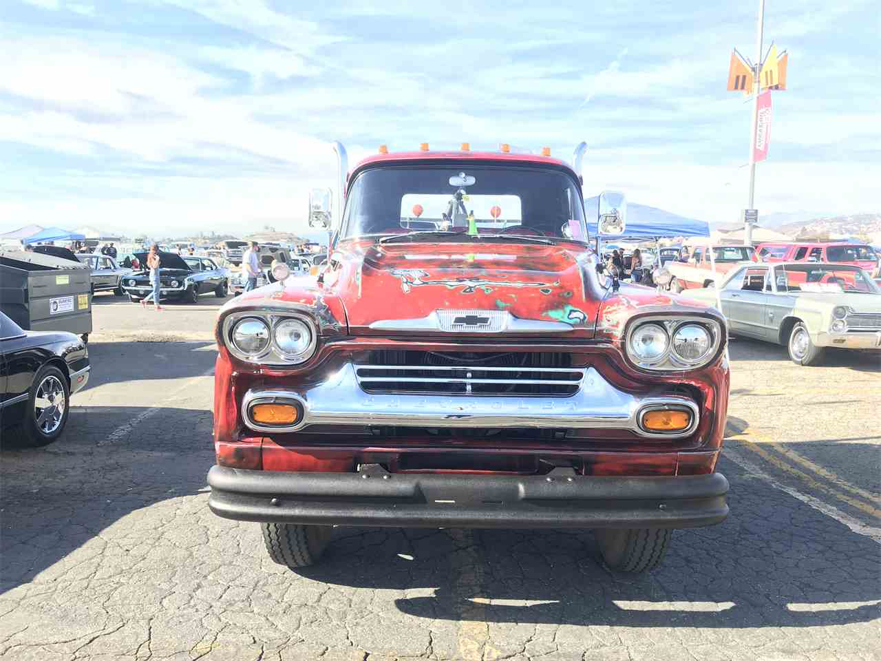 Large Picture of '58 Chevrolet Pickup - MZ9U