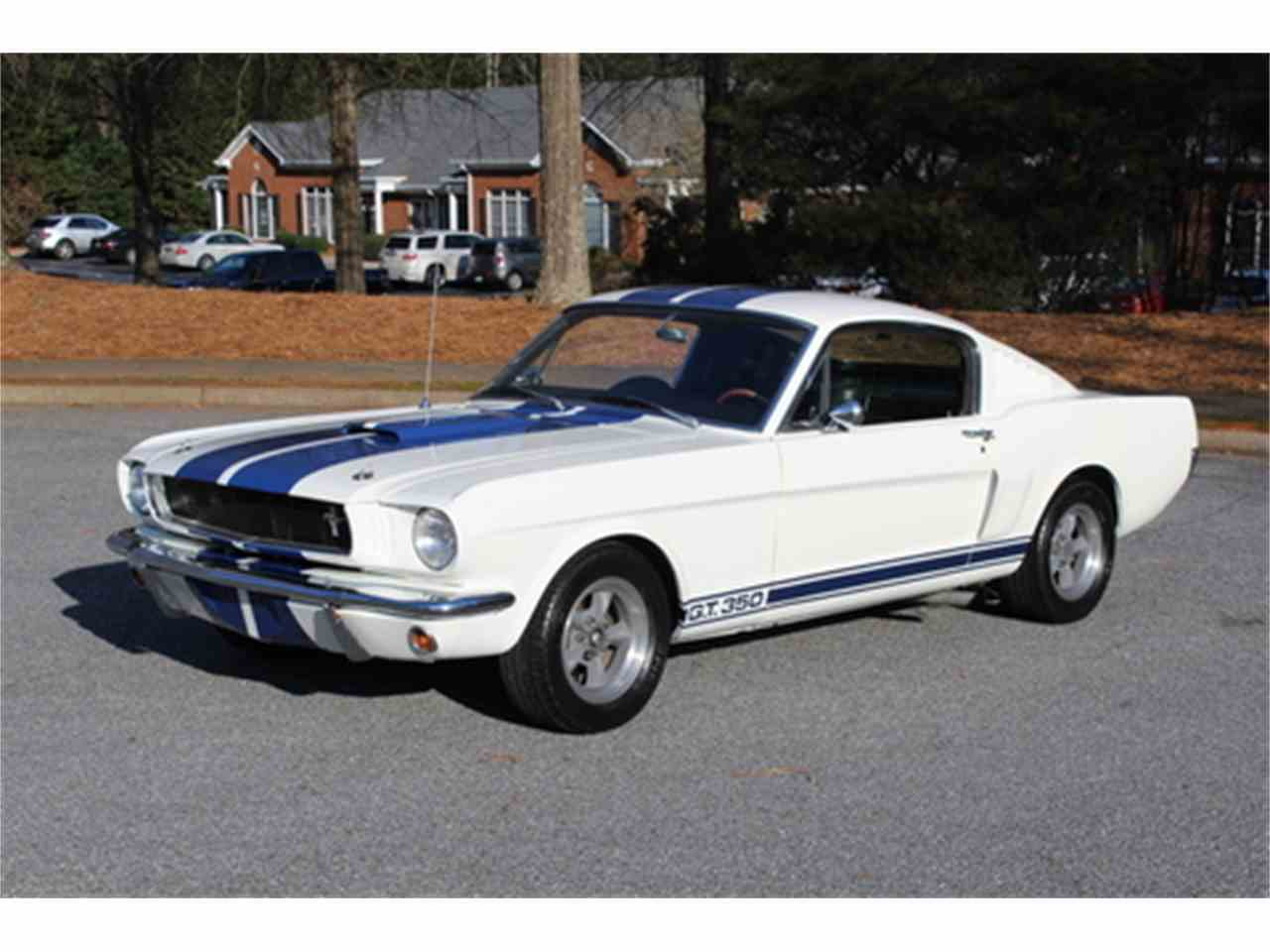 Large Picture of '65 GT350 located in Roswell Georgia Offered by Fraser Dante - MZ9Y