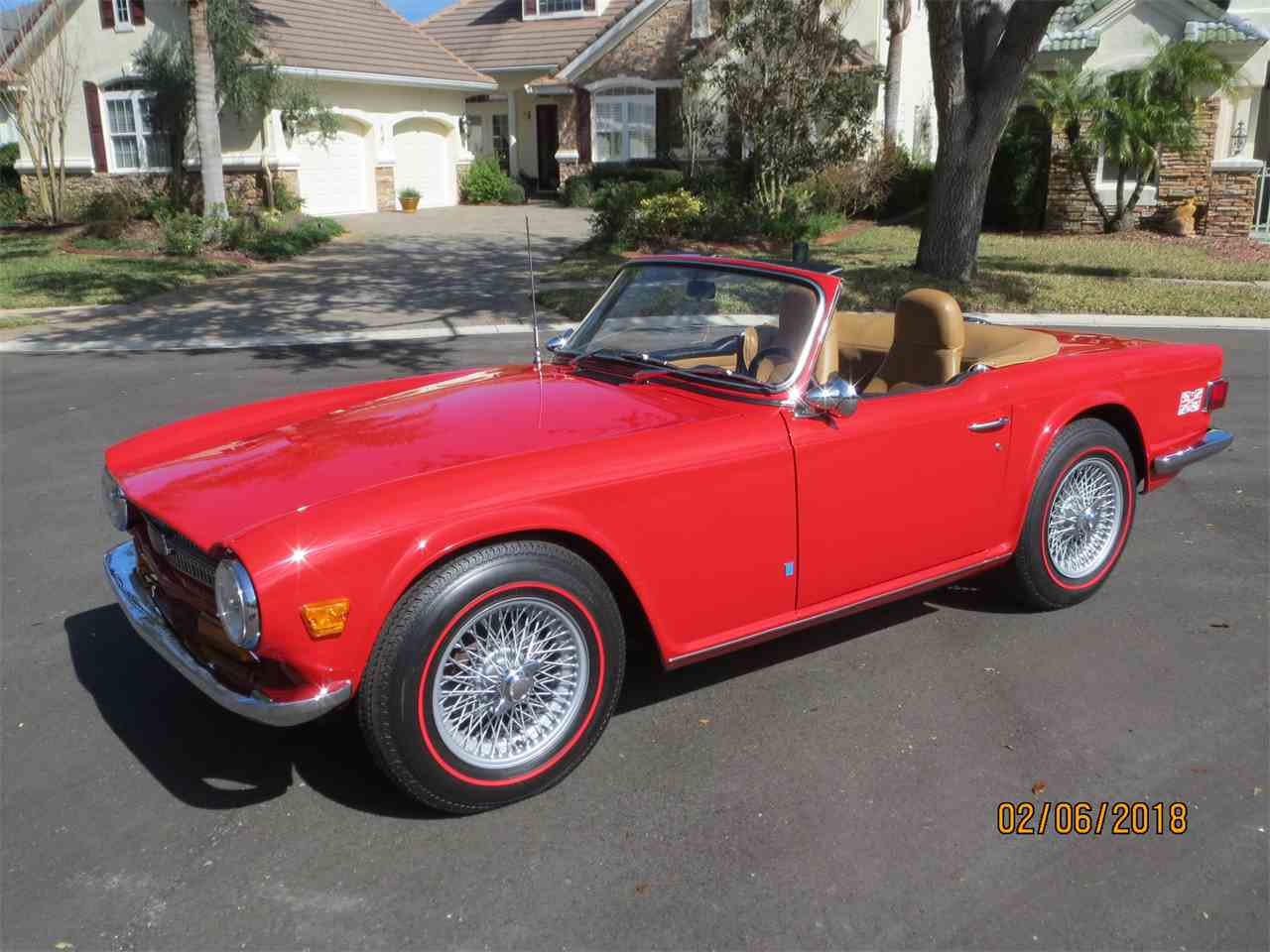 Large Picture of Classic 1972 Triumph TR6 located in Palm Coast Florida - $26,500.00 - MZA0
