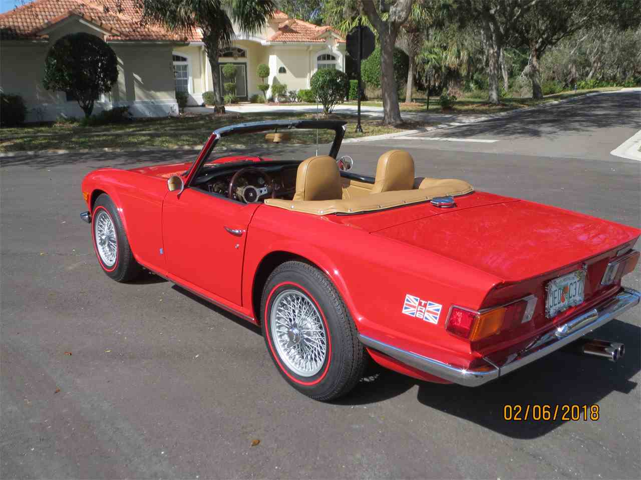 Large Picture of Classic 1972 Triumph TR6 located in Palm Coast Florida - $26,500.00 Offered by a Private Seller - MZA0