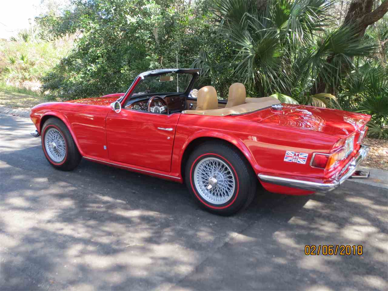Large Picture of '72 Triumph TR6 Offered by a Private Seller - MZA0