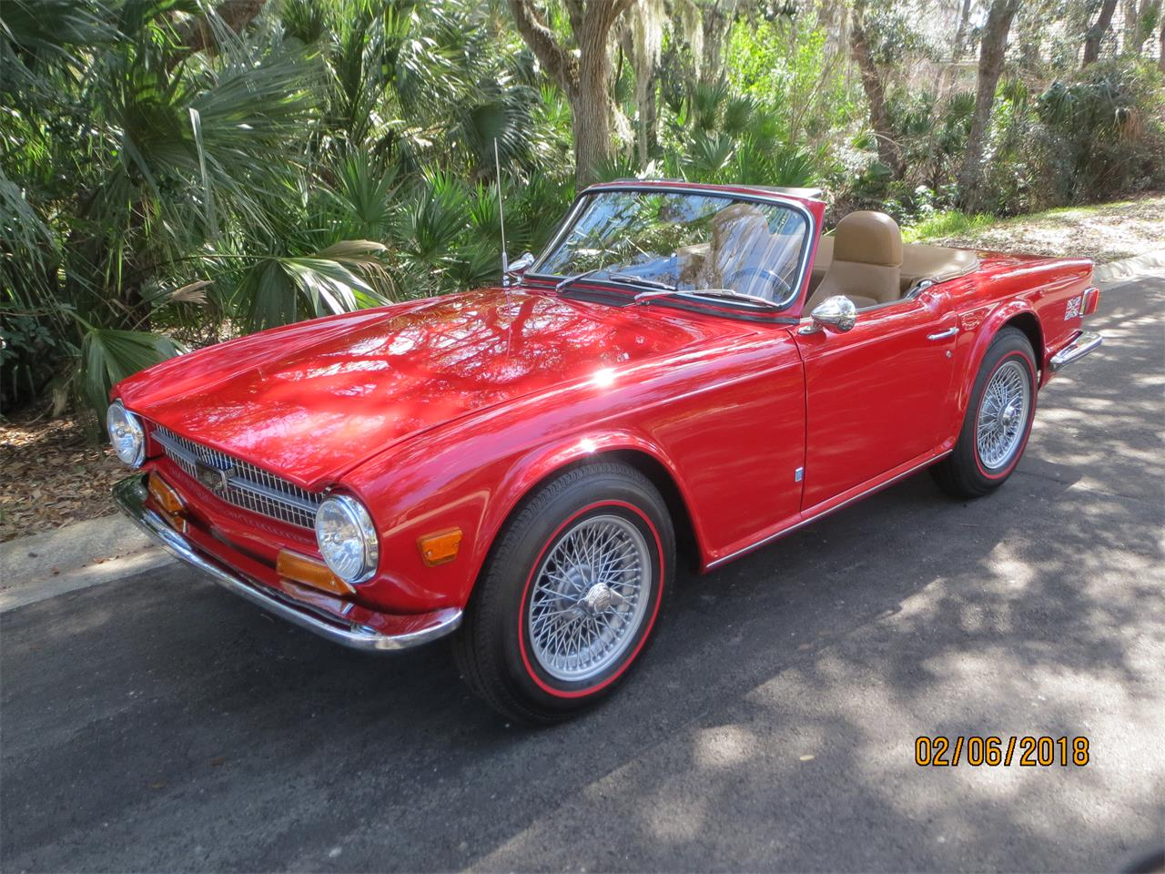 Large Picture of Classic '72 Triumph TR6 located in Florida Offered by a Private Seller - MZA0