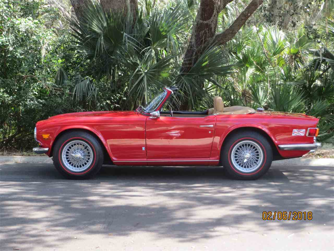 Large Picture of Classic 1972 Triumph TR6 located in Florida - MZA0