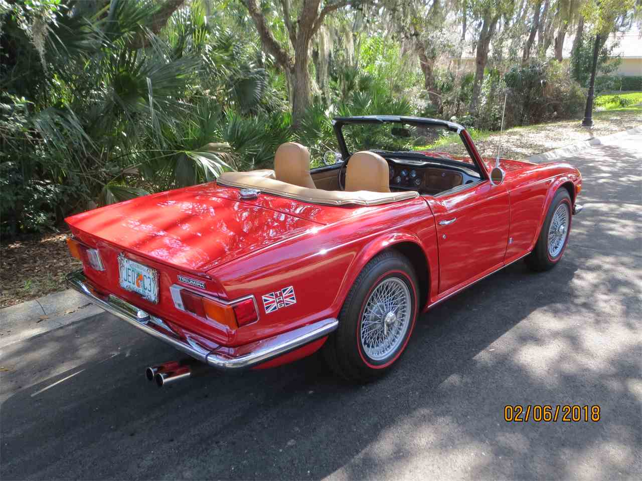 Large Picture of Classic 1972 Triumph TR6 located in Florida - $26,500.00 - MZA0