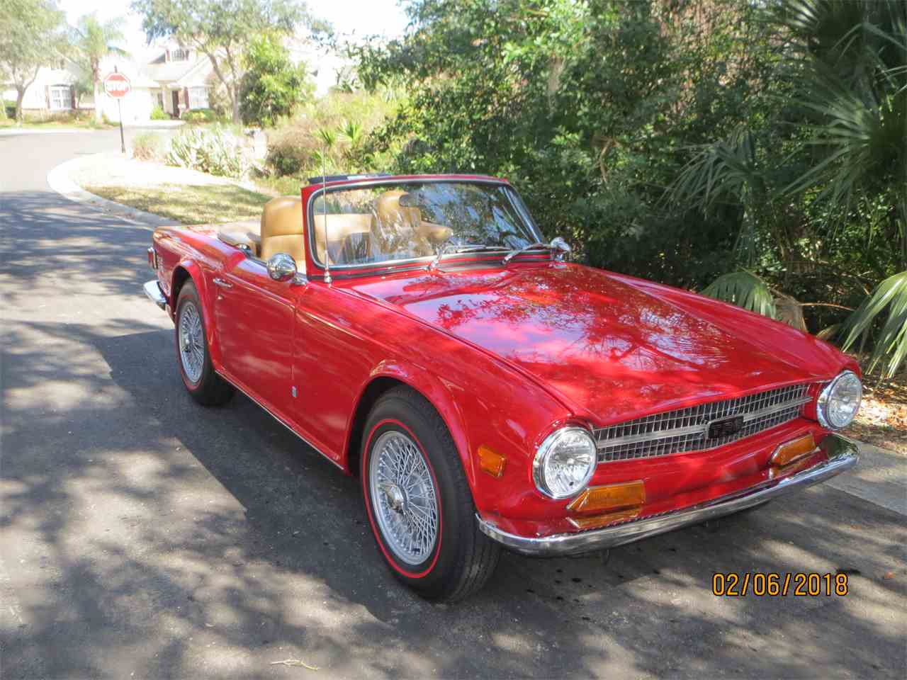 Large Picture of Classic '72 TR6 located in Palm Coast Florida Offered by a Private Seller - MZA0