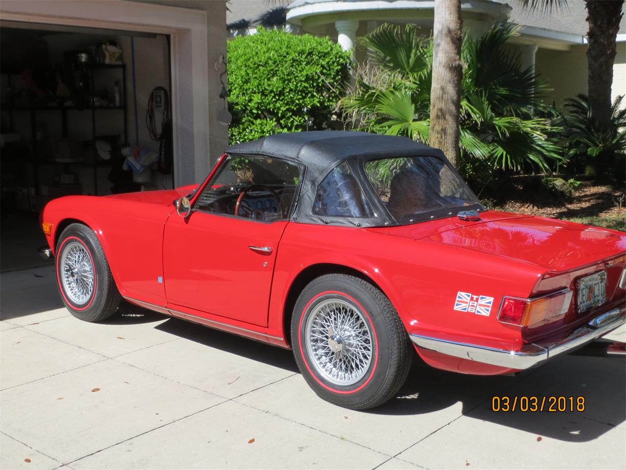Large Picture of Classic 1972 Triumph TR6 located in Florida - $26,500.00 Offered by a Private Seller - MZA0