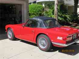 Picture of 1972 Triumph TR6 located in Palm Coast Florida - $26,500.00 Offered by a Private Seller - MZA0