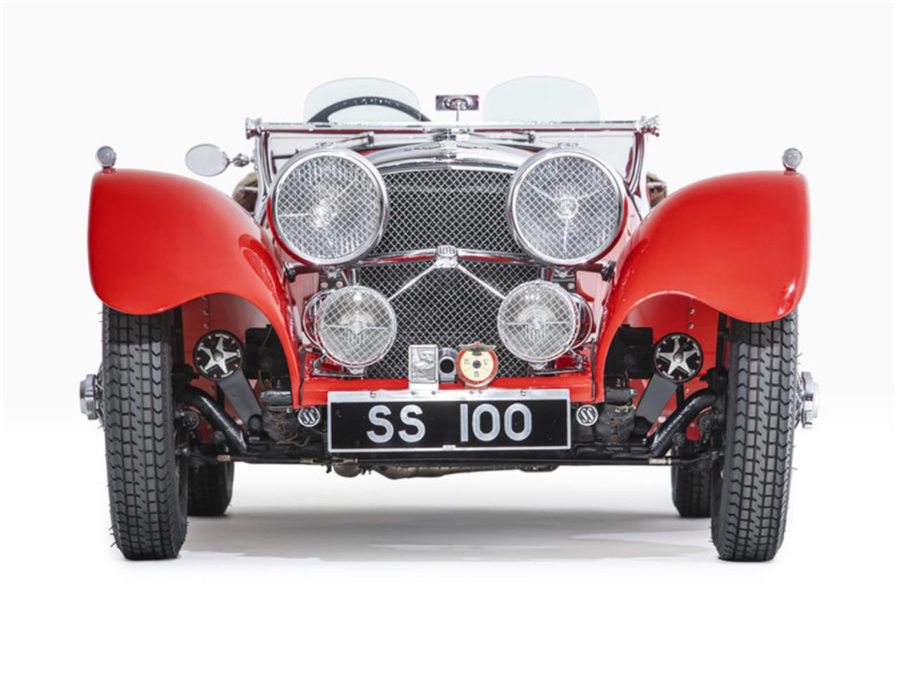 Large Picture of 1938 Jaguar SS100 located in Newport Beach California - $349,000.00 Offered by Morris and Welford - MZA7