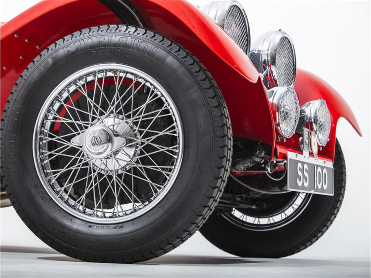 Large Picture of '38 Jaguar SS100 located in California Offered by Morris and Welford - MZA7