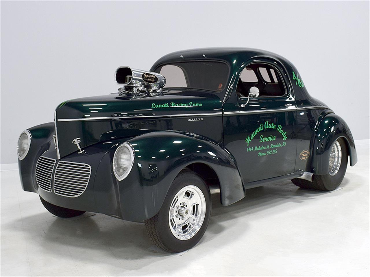 Large Picture of '40 Willys Coupe Offered by Harwood Motors, LTD. - MZB9
