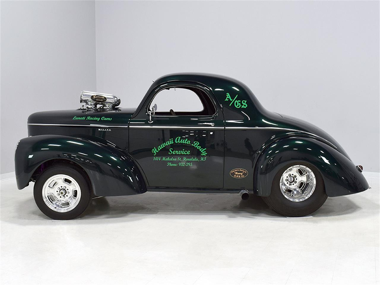Large Picture of Classic '40 Willys Coupe located in Ohio Offered by Harwood Motors, LTD. - MZB9