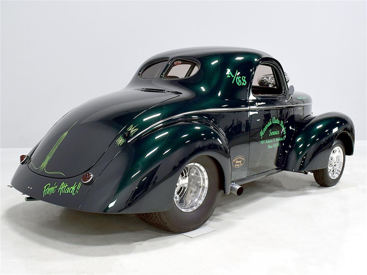 Large Picture of 1940 Willys Coupe located in Macedonia Ohio Offered by Harwood Motors, LTD. - MZB9