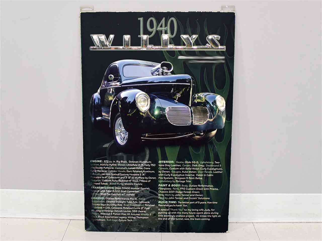 Large Picture of '40 Coupe located in Macedonia Ohio Offered by Harwood Motors, LTD. - MZB9
