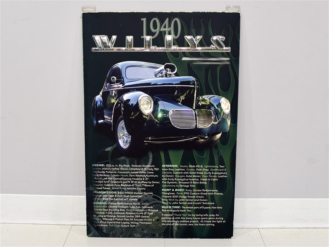 Large Picture of '40 Willys Coupe - $89,900.00 - MZB9