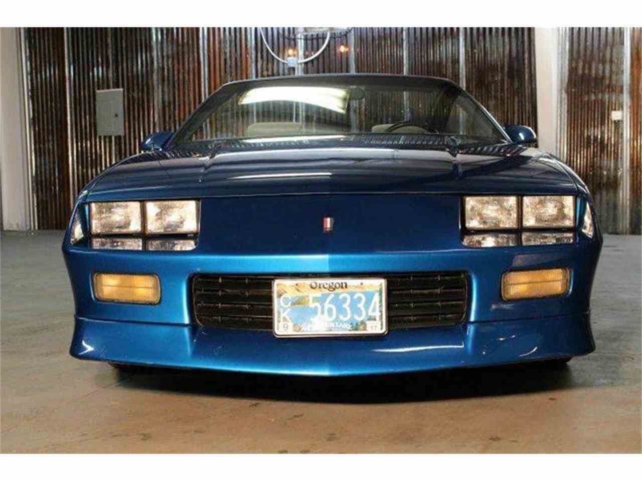 Large Picture of '92 Camaro - MZBC