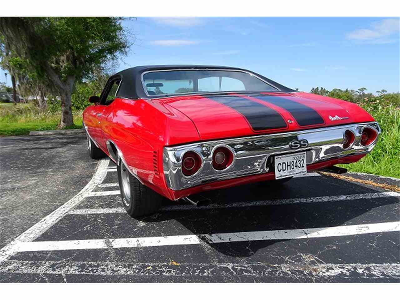 Large Picture of 1972 Chevrolet Chevelle SS - MZCW