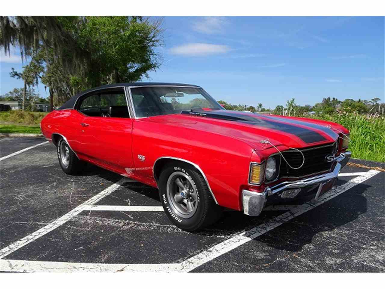 Large Picture of '72 Chevelle SS Offered by McGeorge Classics - MZCW