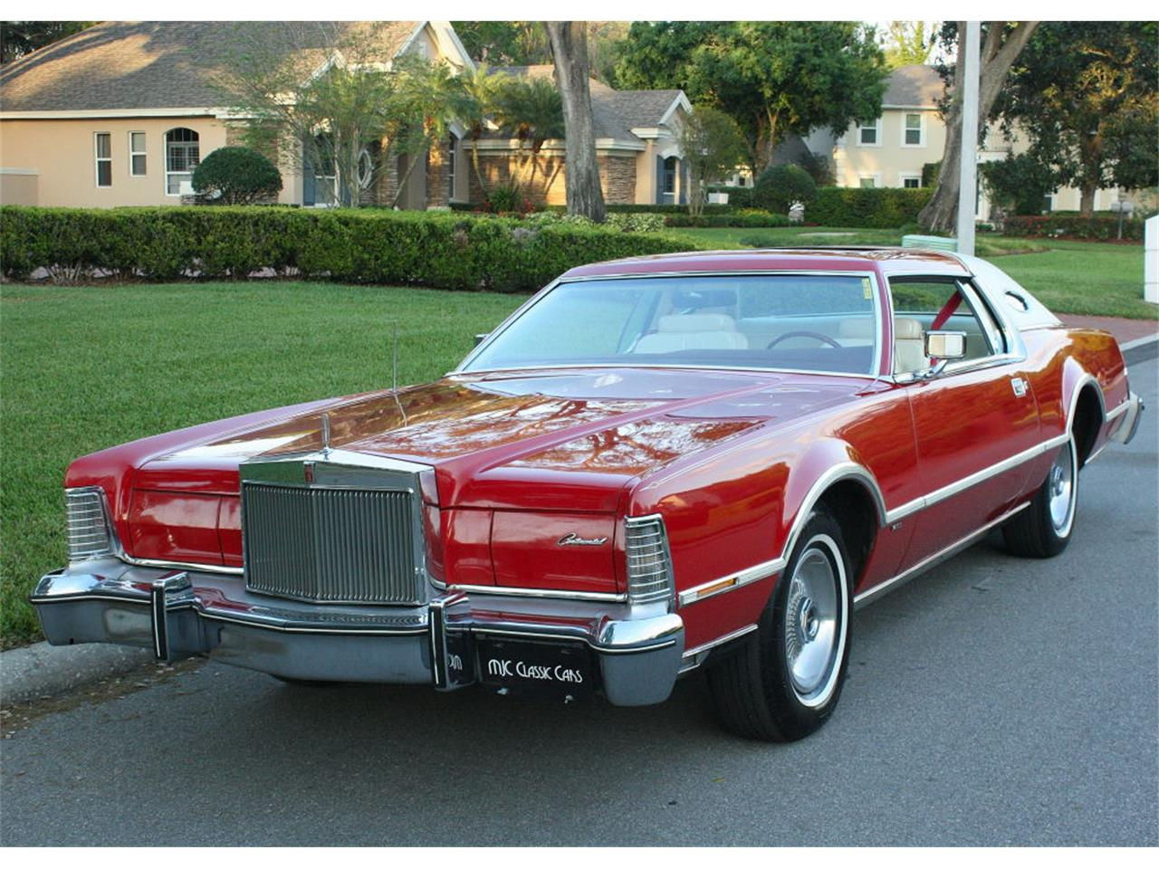 Large Picture of '75 Lincoln Continental Mark IV Offered by MJC Classic Cars - MZD3