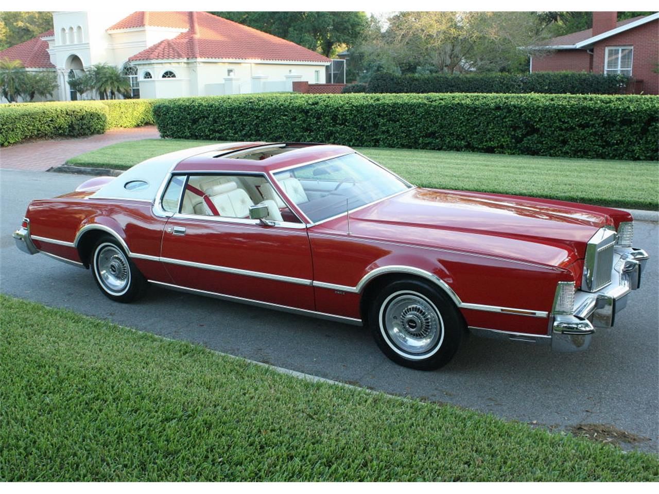Large Picture of '75 Continental Mark IV Offered by MJC Classic Cars - MZD3