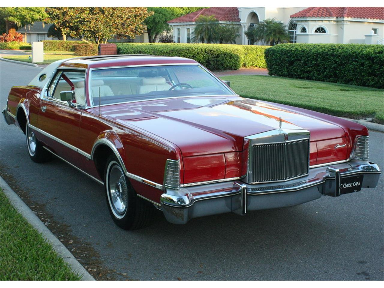 Large Picture of 1975 Lincoln Continental Mark IV Offered by MJC Classic Cars - MZD3