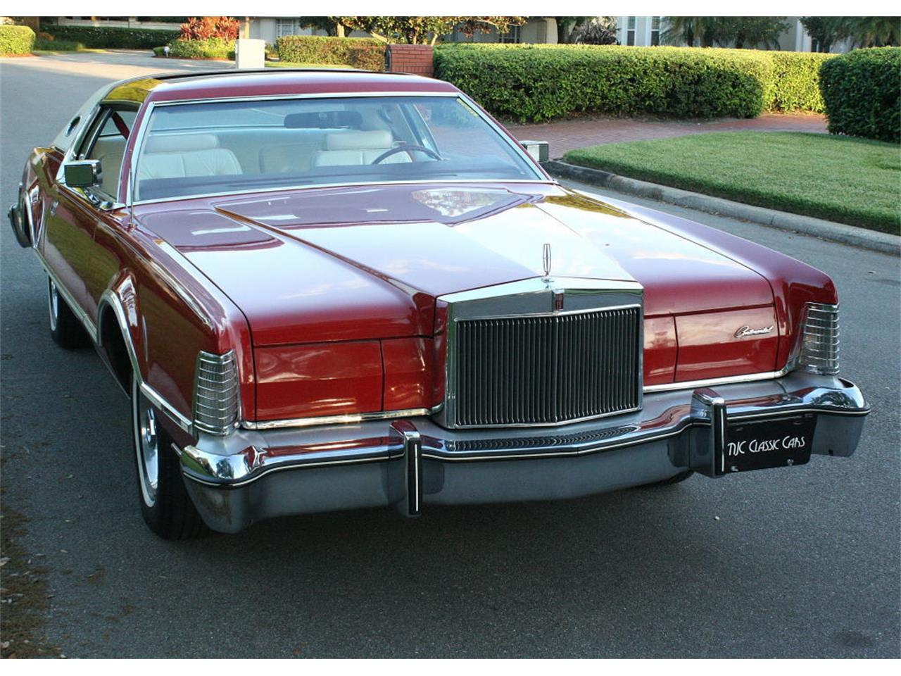 Large Picture of 1975 Lincoln Continental Mark IV - $37,500.00 - MZD3