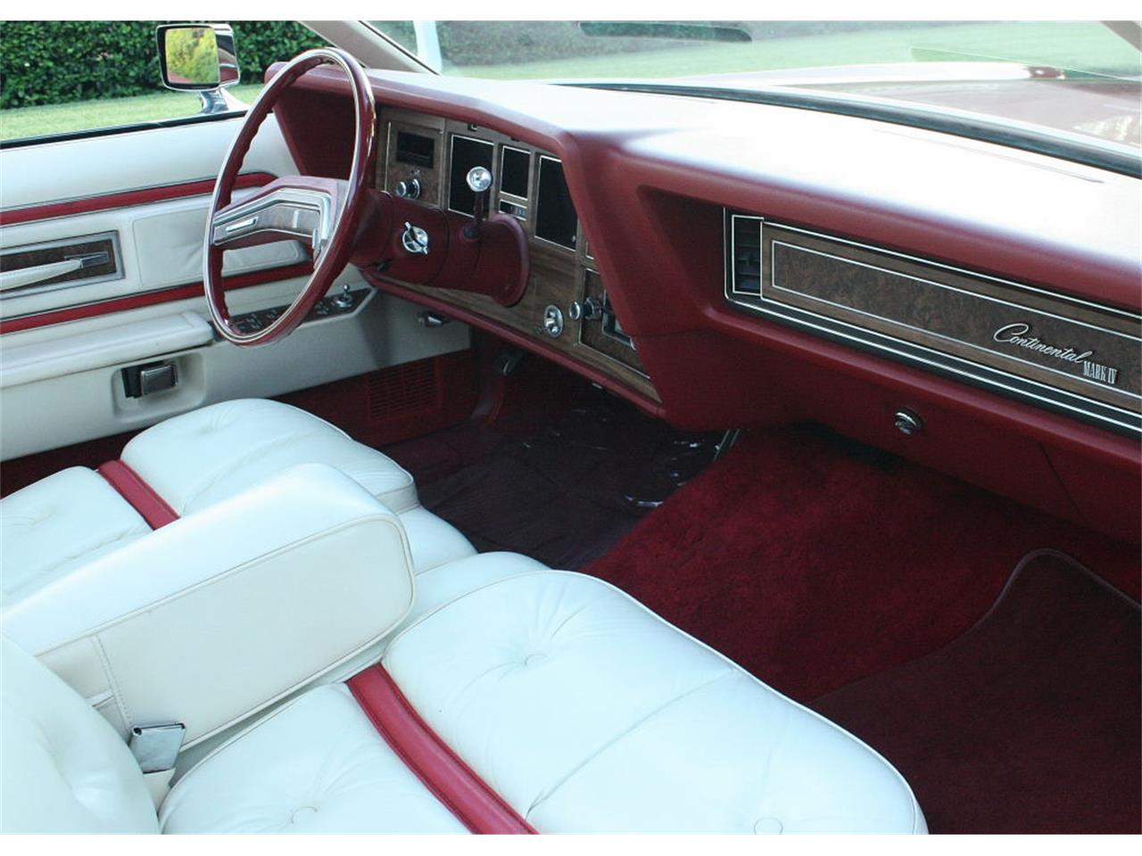 Large Picture of 1975 Continental Mark IV located in Florida - $37,500.00 - MZD3