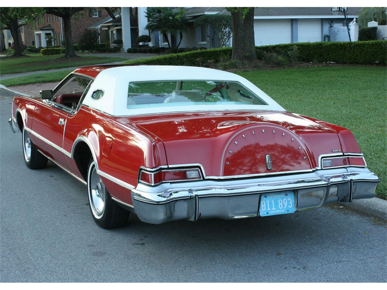 Large Picture of '75 Lincoln Continental Mark IV located in Florida Offered by MJC Classic Cars - MZD3
