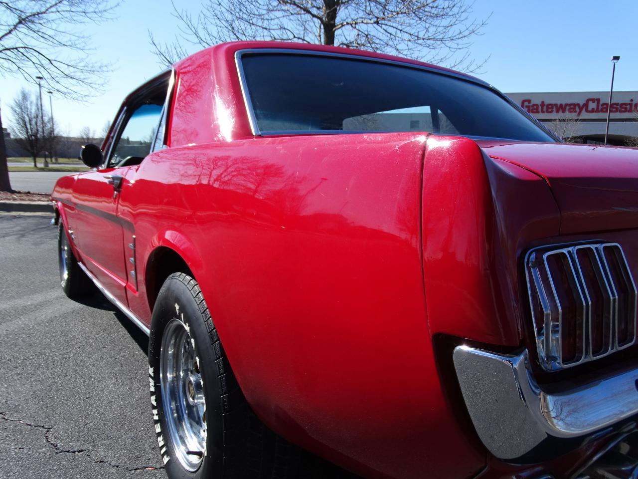 Large Picture of '66 Mustang Offered by Gateway Classic Cars - St. Louis - MZEK