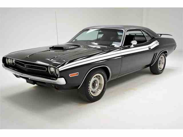 Dodge Challenger 1969 Black >> 1969 To 1971 Dodge Challenger R T For Sale On Classiccars Com