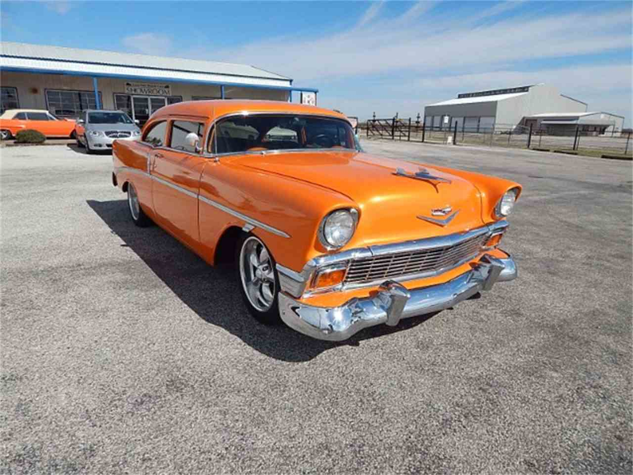 Large Picture of Classic '56 Chevrolet Bel Air Offered by Lone Star Muscle Cars - MZG7