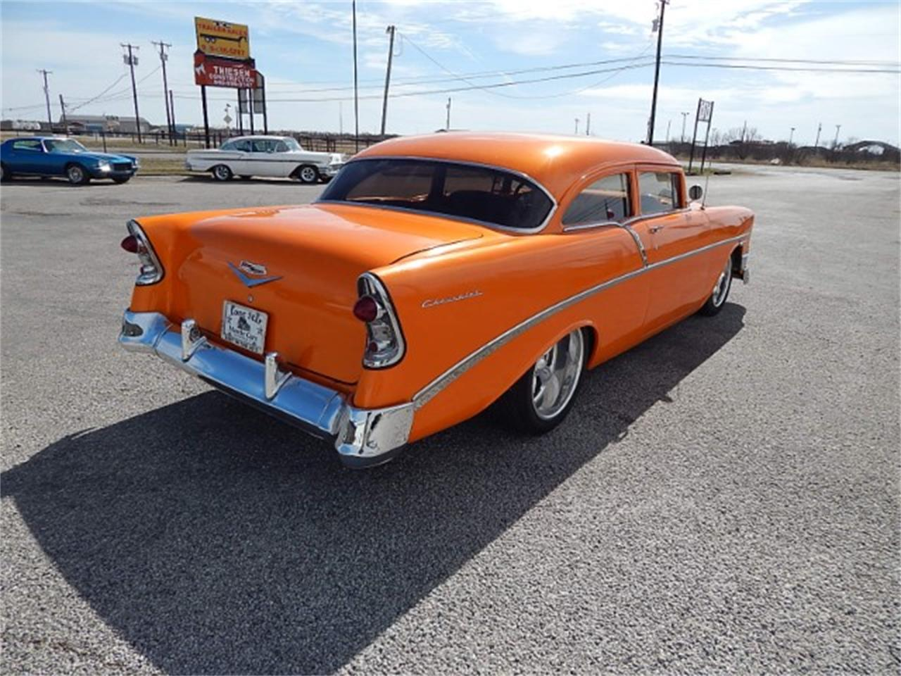 Large Picture of Classic '56 Chevrolet Bel Air located in Wichita Falls Texas - $69,000.00 - MZG7