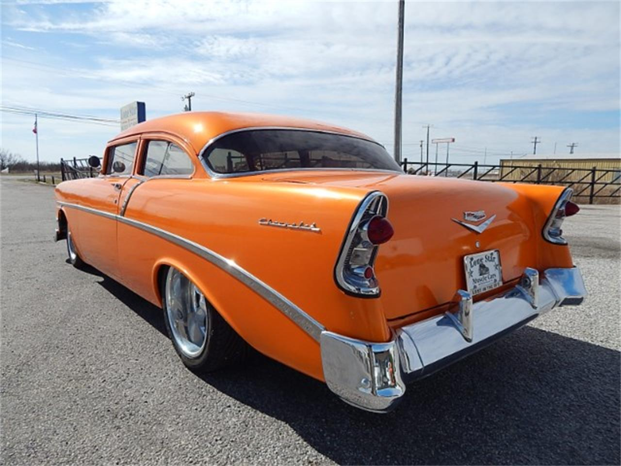 Large Picture of 1956 Chevrolet Bel Air located in Texas Offered by Lone Star Muscle Cars - MZG7