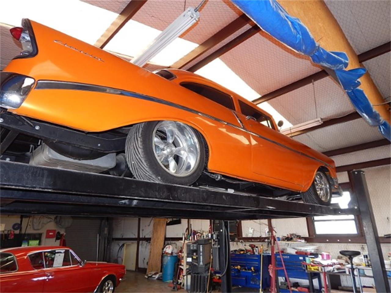 Large Picture of '56 Bel Air located in Wichita Falls Texas Offered by Lone Star Muscle Cars - MZG7