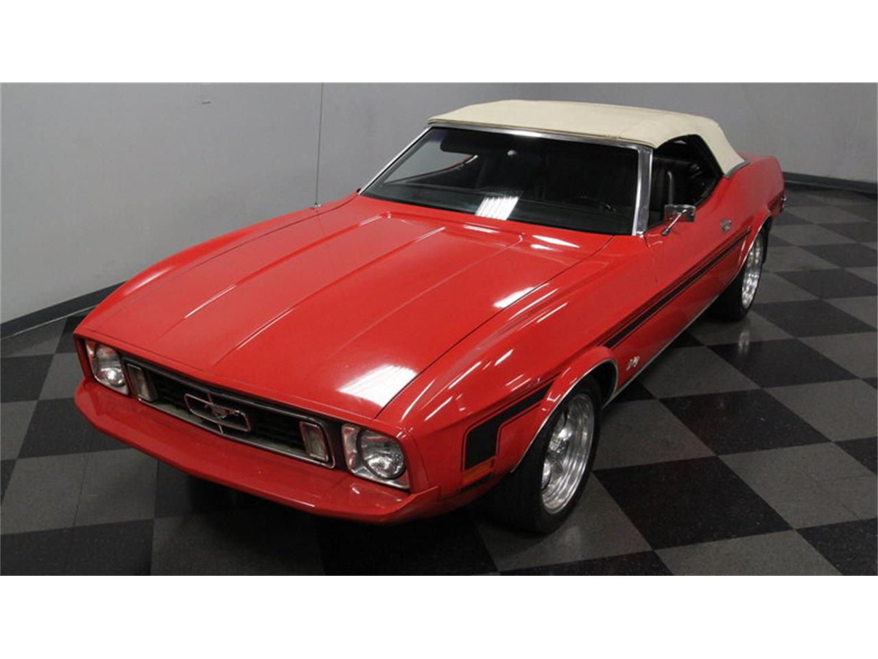 Large Picture of Classic '73 Ford Mustang located in Concord North Carolina Offered by Streetside Classics - Charlotte - MZGC