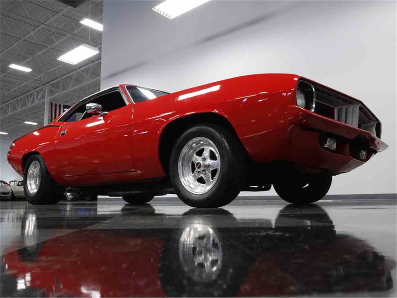 Large Picture of '73 Cuda - MZGY