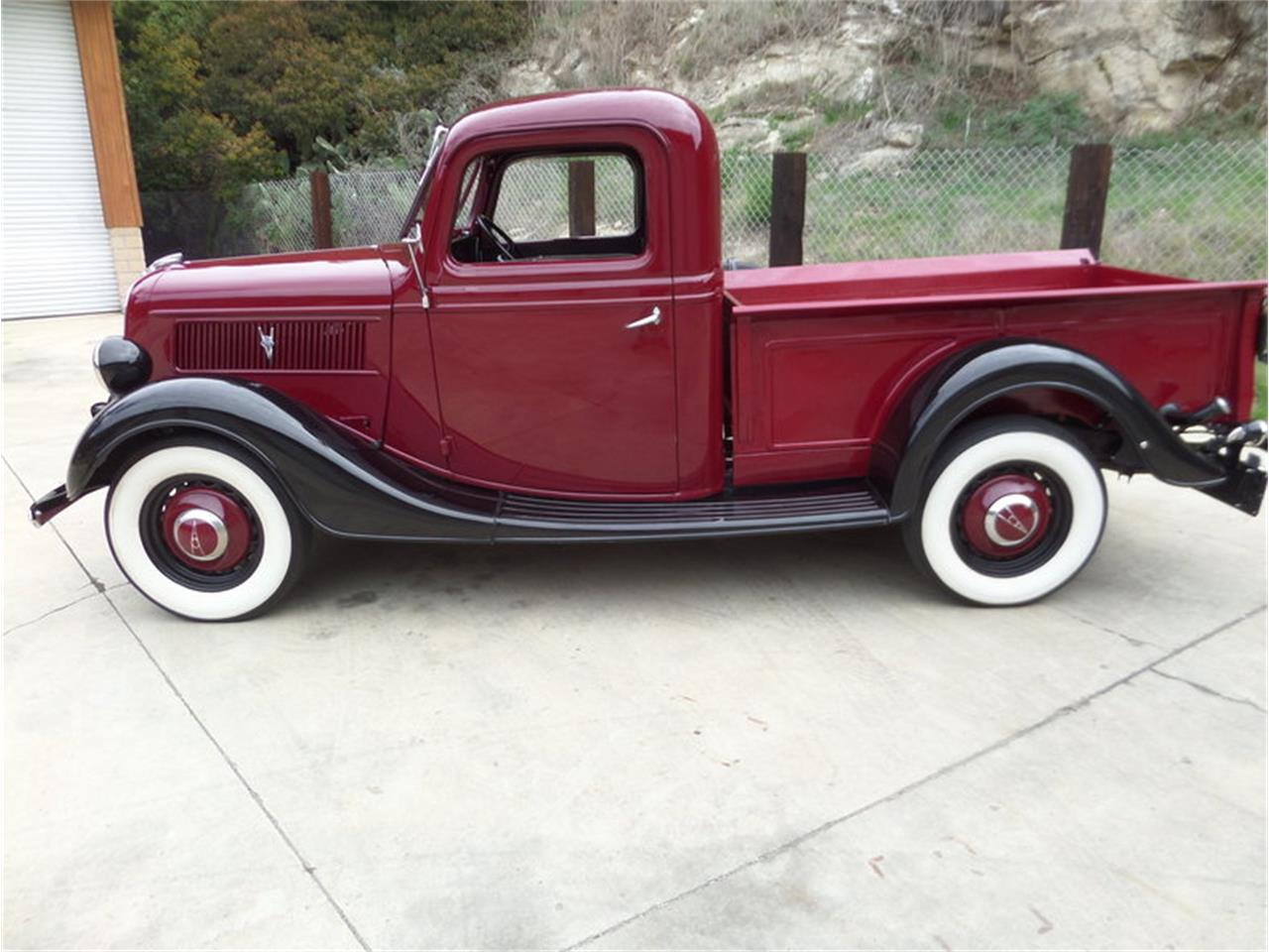 Large Picture of Classic '37 1/2 Ton Pickup located in Laguna Beach California Offered by Laguna Classic Cars - MZHB