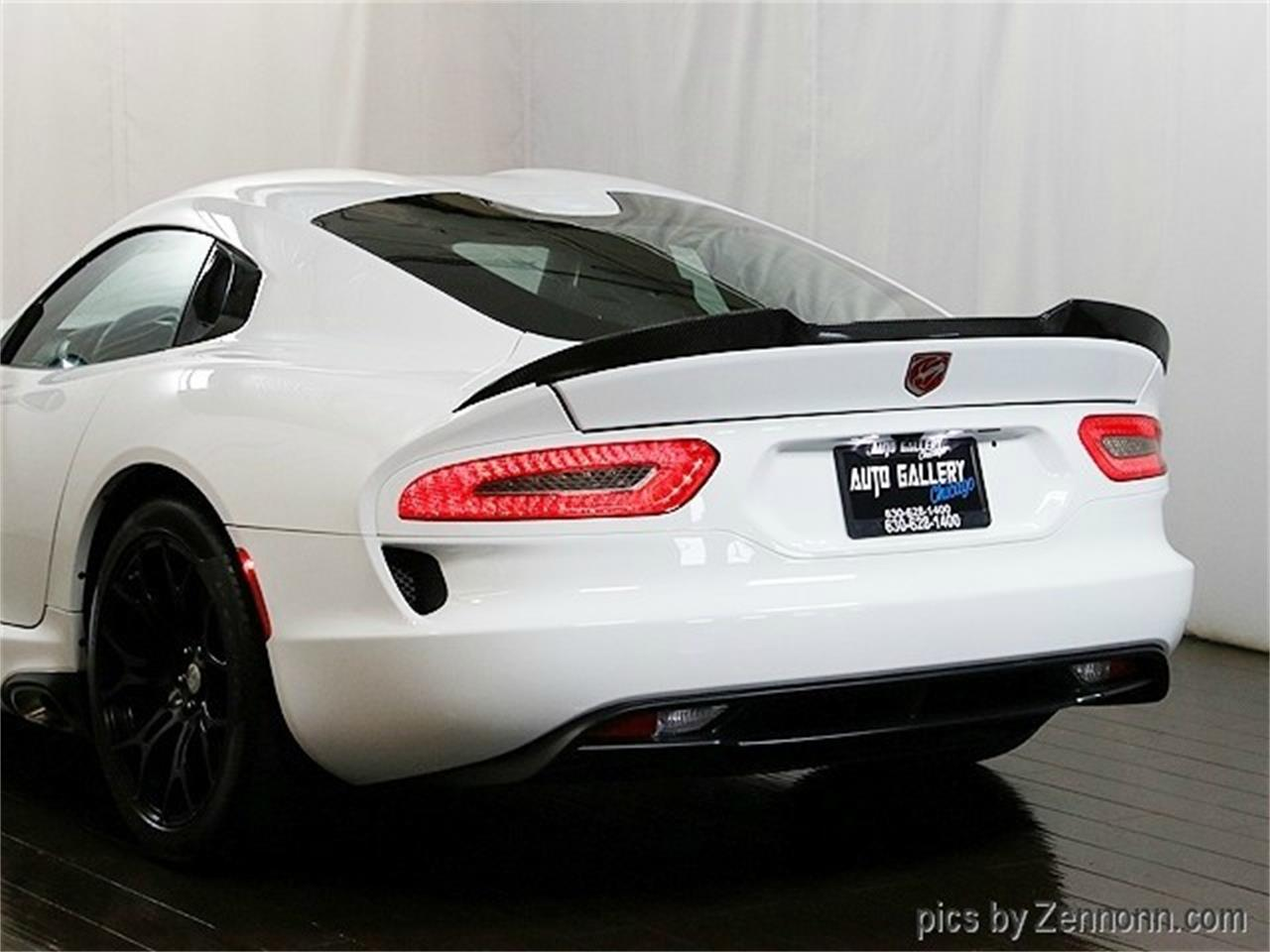 Large Picture of 2015 Dodge Viper located in Addison Illinois Offered by Auto Gallery Chicago - MZHI