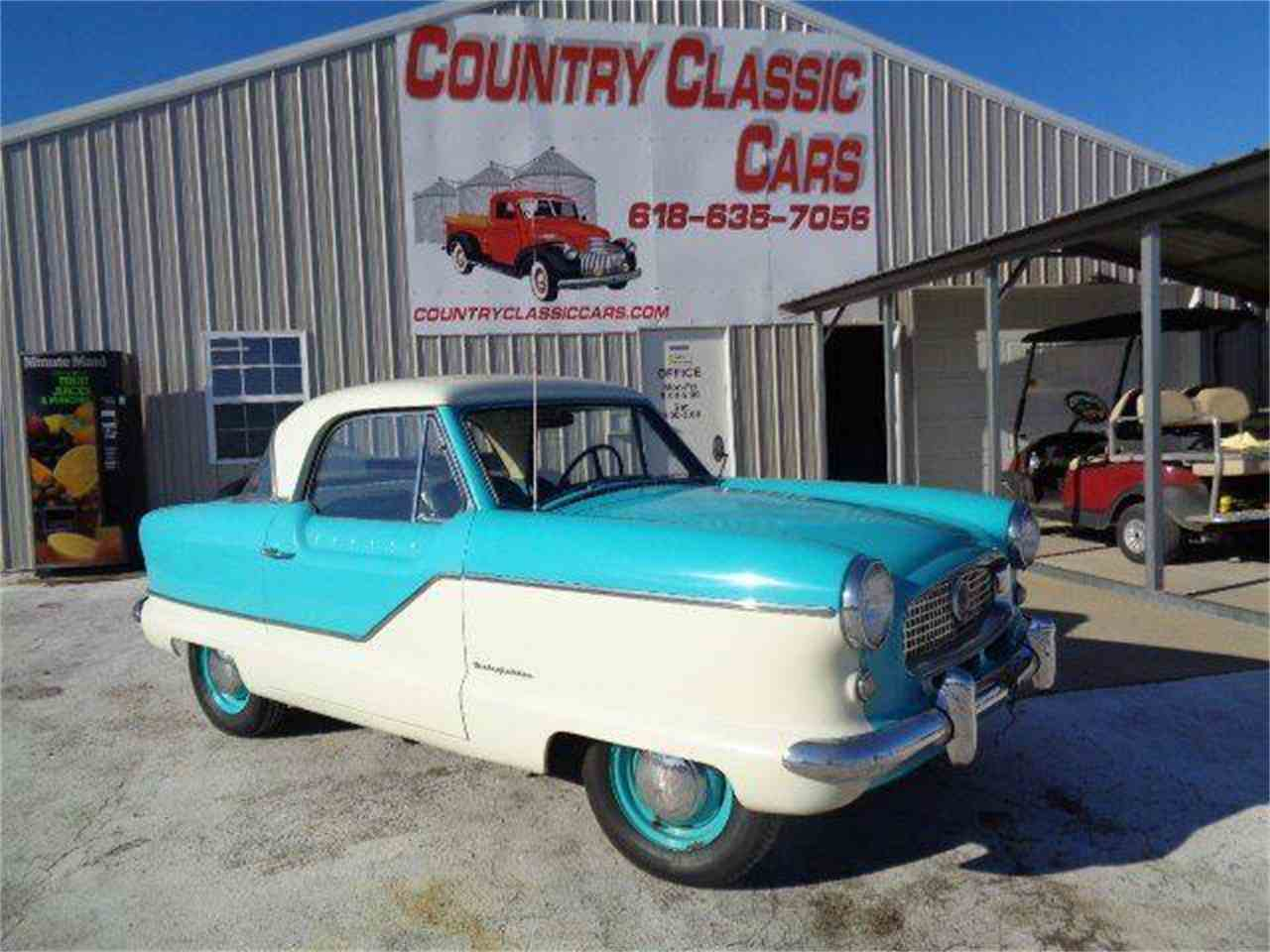 Large Picture of Classic '59 Nash Metropolitan - $10,350.00 - MZI0