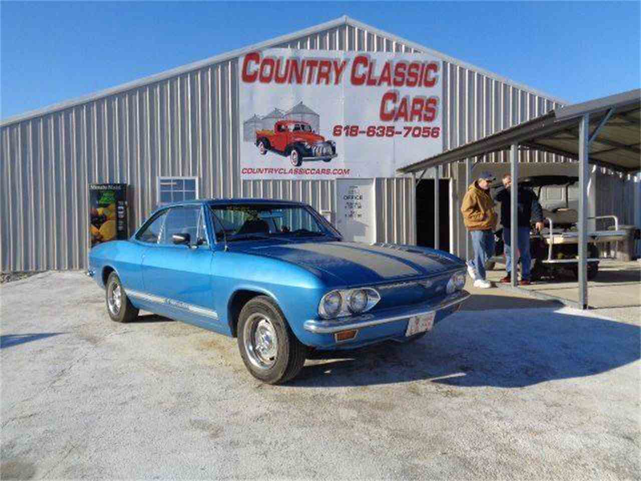 Large Picture of '69 Corvair - MZI9