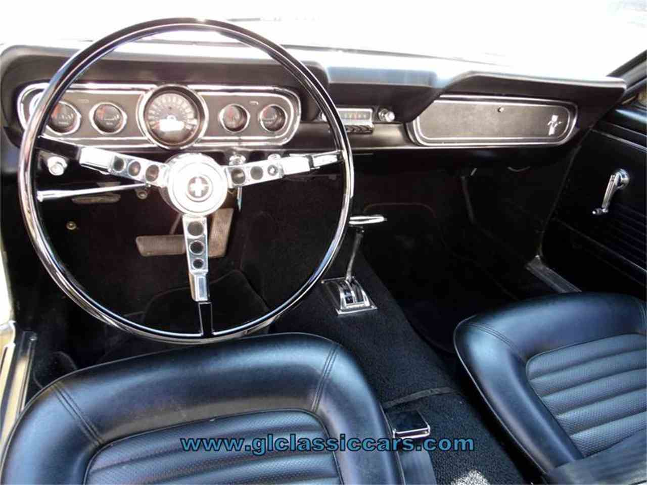 Large Picture of '66 Mustang - MZIB
