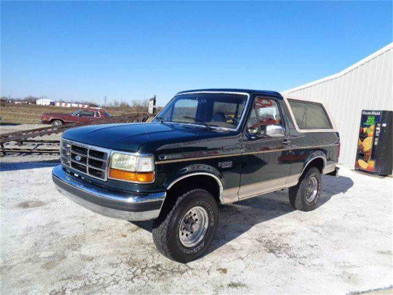 1993 ford bronco for sale cc 1072472. Black Bedroom Furniture Sets. Home Design Ideas